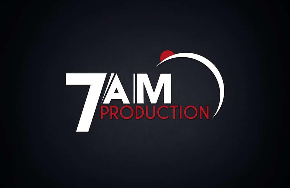 Création de logo 7AM Production