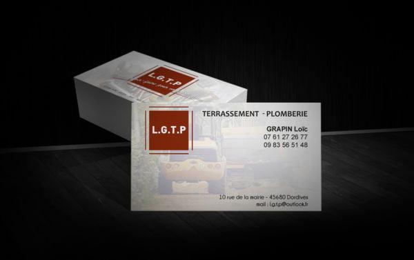 Création - Carte de visite LGTP