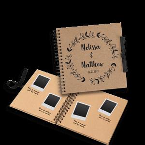 Book souvenir Polaroid