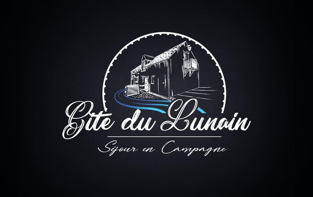 Création Logo - Gite du Lunain